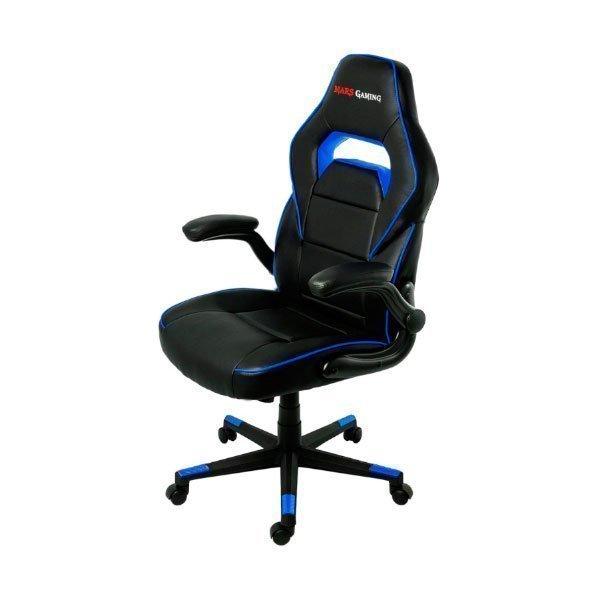 Silla Mars Gaming MGC117BBL color Azul-Negro