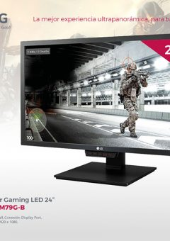 "MONITOR GAMING 24"" LG 24GM79G-B FHD HDMI-DP"