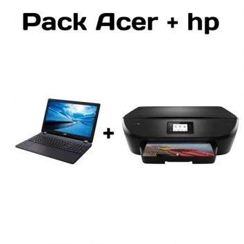 pack acer extensa mas multifuncion hp