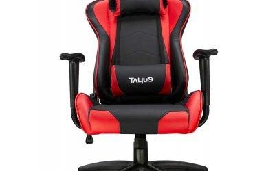 Silla gaming rojo y negro Talius Gecko